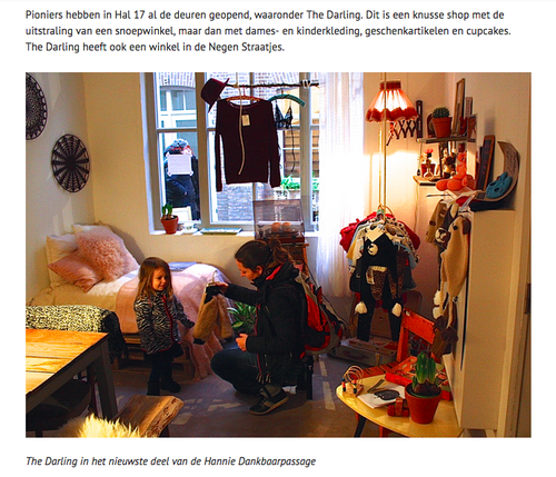 Design Kinderkleding.De Westkrant The Darling Amsterdam