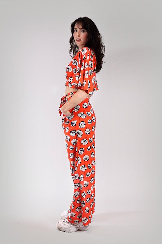 MILA SUMMER SUIT | CORAL
