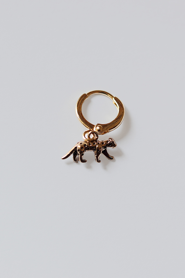 EARRING TIGER | GOLD-PLATED