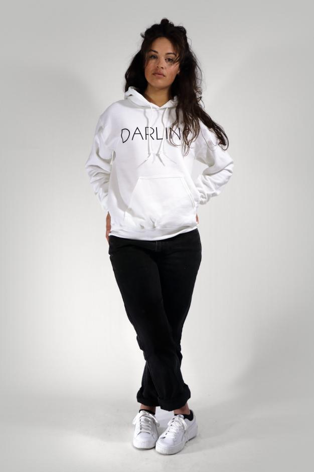DARLING HOODIE | WHITE